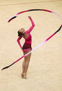 Rhythmic Gymnastics World Cup Stock Images