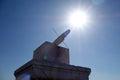 Ri Gui (sundial) in the Forbidden City (Gu Gong) Royalty Free Stock Photo