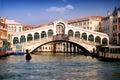 Rialto bridge Royalty Free Stock Photo