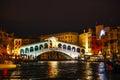 Rialto Bridge (Ponte Di Rialto) in Venice, Italy Royalty Free Stock Photo