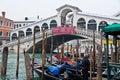 Rialto Bridge in Venice Royalty Free Stock Images