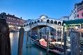 Rialto Bridge, Venice Italy Royalty Free Stock Photo