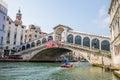 Rialto bridge in Venice, Italy Royalty Free Stock Photo