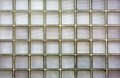 Ribbed Glass block wall Royalty Free Stock Photos