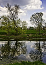 Ribble reflections Royalty Free Stock Photography