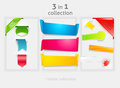 Ribbon and banner collection Royalty Free Stock Photo
