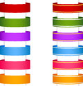 Ribbon banner collection 1 Royalty Free Stock Photo