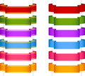 Ribbon banner collection 2 Royalty Free Stock Photo