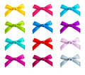 Ribbon bows Royalty Free Stock Image