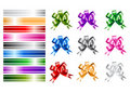 Ribbon collections Royalty Free Stock Photos