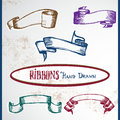 Ribbons Fotografia Stock