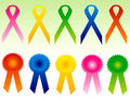 Ribbons Stock Photography