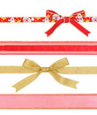 Ribbons with clipping paths Royalty Free Stock Photography