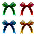 Ribbons colored vectors Stock Images
