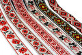 Ribbons with ornament Royalty Free Stock Photo
