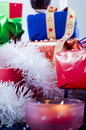 Ribbons and Presents Stock Photography