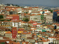 The ribeira district in porto view of historic portugal Stock Photos
