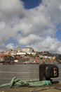 Ribeira and douro river porto portugal Royalty Free Stock Images