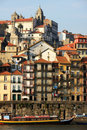Ribeira Houses, Porto Stock Photography