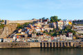 Ribeyr s region in porto portugal early the morning Stock Photos