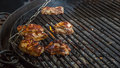 Ribs on the grill Royalty Free Stock Photo