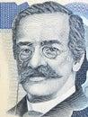 Ricardo Palma portrait Royalty Free Stock Photo