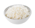 Rice in a bowl Royalty Free Stock Photo