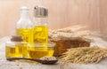 Rice bran oil Royalty Free Stock Photo