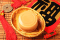 Rice cake for Chinese new year Royalty Free Stock Photo