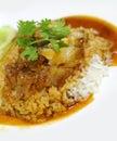 Rice crispy pork Royalty Free Stock Photography