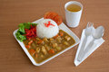 Rice curry food for japan have good taste Stock Photo