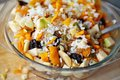 Rice and Fruits Stuffing Royalty Free Stock Photo