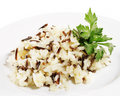 Rice Garnish Royalty Free Stock Photography