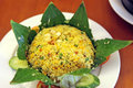 Rice in lotus leaf wrapped vietnam food Stock Image