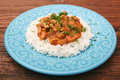 Rice with meat in tomato sause Royalty Free Stock Photo