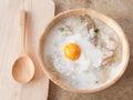 Rice porridge for breakfast