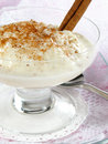 Rice Pudding Stock Image