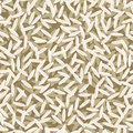 Rice seamless pattern with grains Royalty Free Stock Images