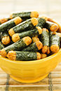 Rice and seaweed crackers Nori Maki Royalty Free Stock Photos