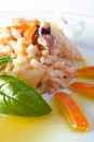 Rice and shellfish Royalty Free Stock Photo