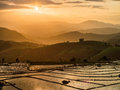 Rice terraces pong piang in chiang mai thailand Royalty Free Stock Photos