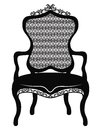 Rich Baroque Rococo chair