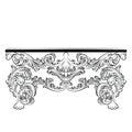 Rich Baroque Table