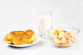 Rich breakfast Royalty Free Stock Photo