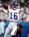 Rich gannon minnesota vikings former qb image taken from color slide Royalty Free Stock Photo