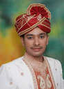 Rich Indian Prince Royalty Free Stock Photo