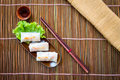 Rich noodle paste with bean sprout Royalty Free Stock Photo
