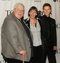 Richard Griffiths Frances dela Tour Samuel Barnett Stock Photos