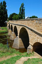 Richmond Bridge in Tasmania Royalty Free Stock Photo