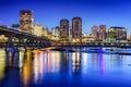 Richmond, Virginia Skyline Royalty Free Stock Photo